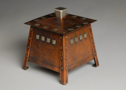 Robert Taylor, Metalsmith and Master Coppersmith, creates exciting new work by pushing the limits of material and adding different metals and techniques.