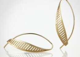 Nancy Ryall Jeweler in Oxford, NC, creates jewelry from sterling silver and 14k gold with highly polished surfaces, contrasting textures and finishes.