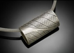 Kim Thompson, Jeweler in Waynesville, NC, designs and hand fabricates contemporary earrings, necklaces and bracelets in sterling silver and often stones.